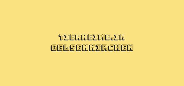 Tierheim Gelsenkirchen